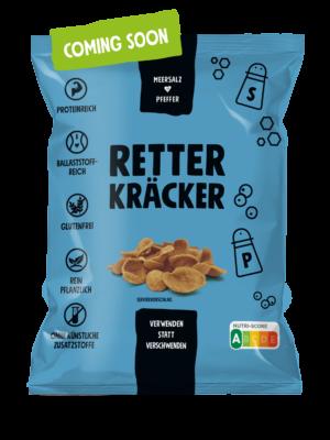 ZeroBullShit Retter Kräcker Verpackung Meersalzl-Pfeffer